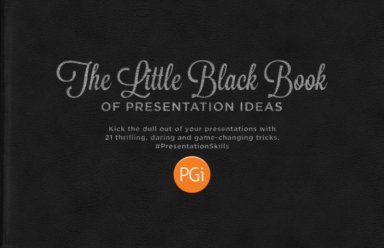 Little Black Book of Fun Presentation Ideas