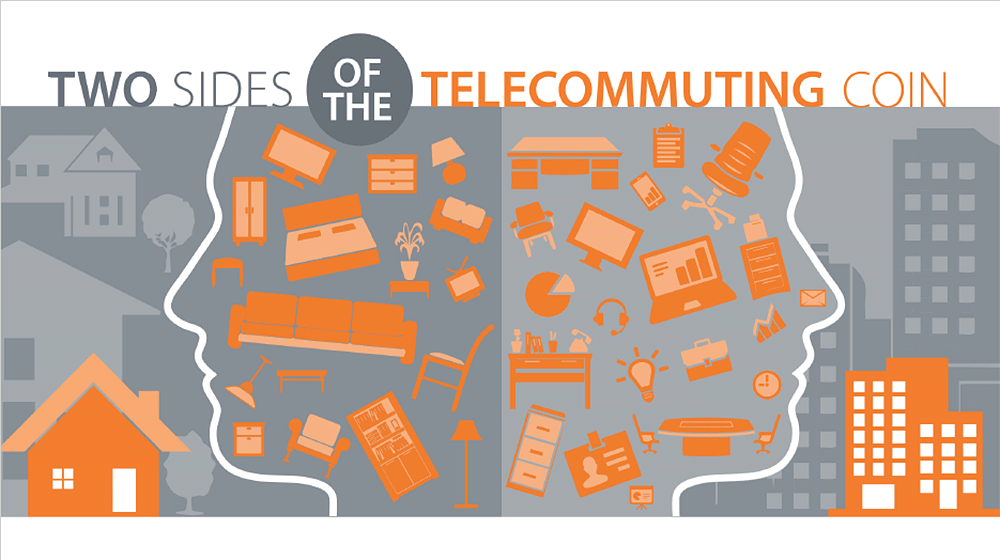 Two Sides of the Telecommuting Coin