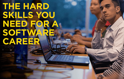 The hard skills you need for a software career.