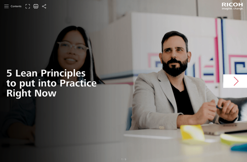 5 Lean Principles to put into Practice