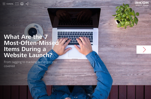 What Are the 7 Most-Often-Missed Items During a Website Launch
