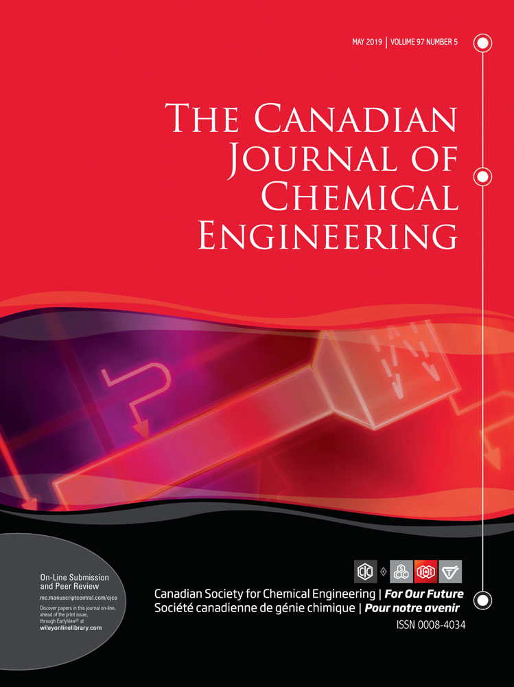The Canadian Journal of Chemical Engineering