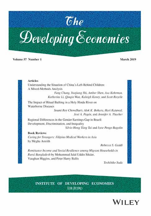 The Developing Economies