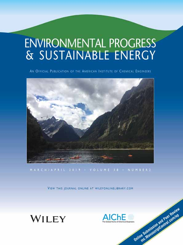 Environmental Progress & Sustainable Energy
