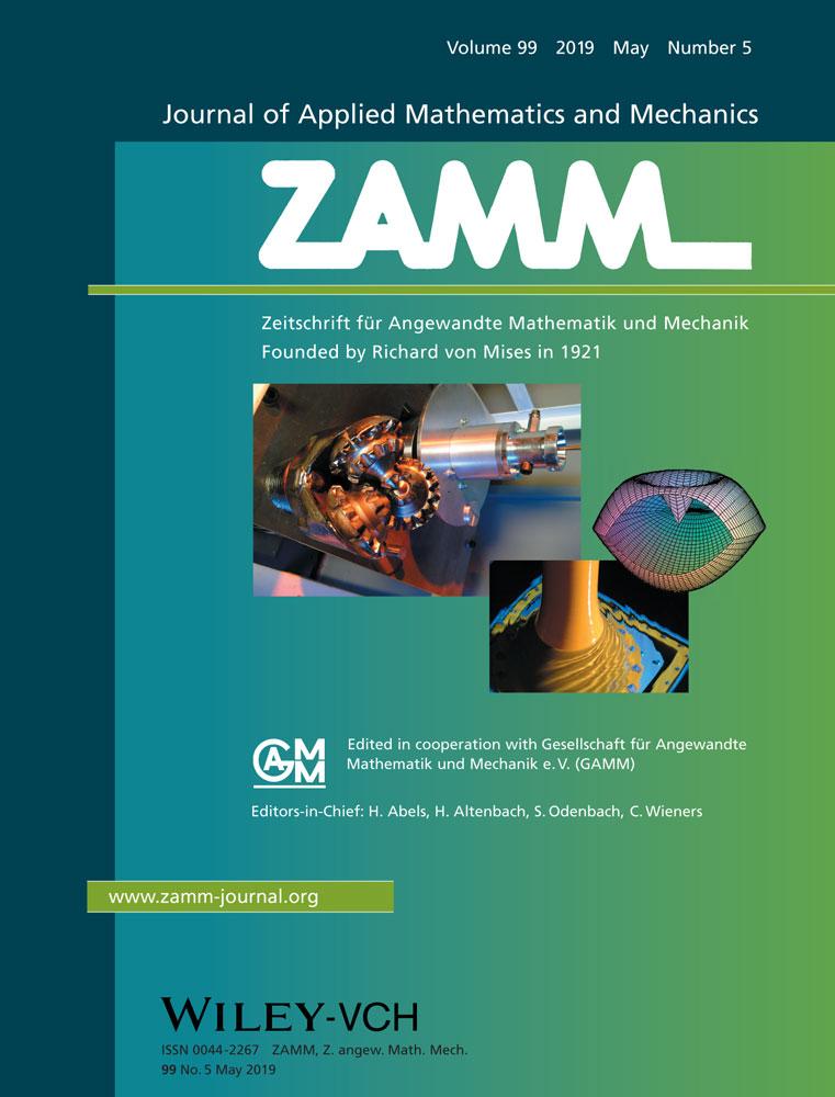 Zamm - Journal of Applied Mathematics and Mechanics
