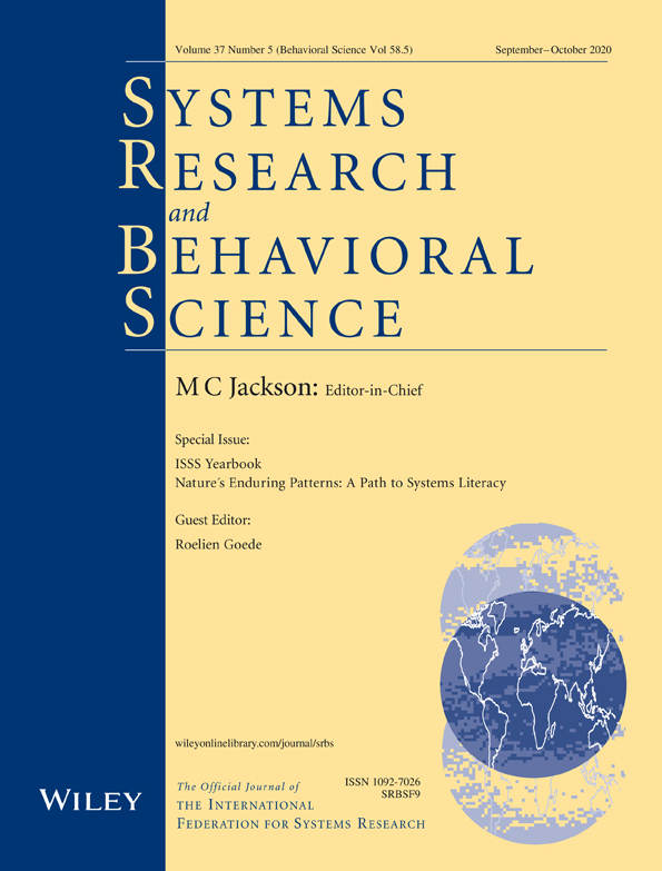 Systems Research & Behavioral Science